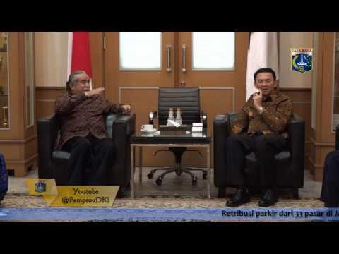 08 Sept 2016 Gub Basuki T. Purnama Menerima Yayasan Seni Budaya Jakarta