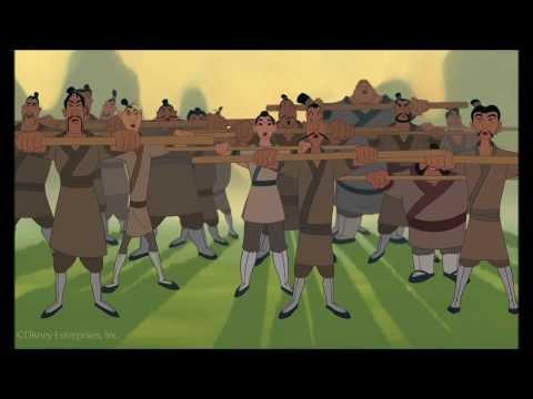 Mulan- I'll Make a Man Out of You Clip (HD)