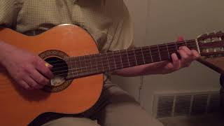 In His Time - classical guitar