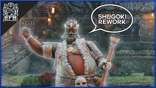 For Honor -  i used shugoki's rework for a day and this is what i got..
