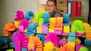 Стикеры(Stickers)(Вот так вот развлекаются в офисах) Прикольное видео), 2010-06-08T18:47:04.000Z)