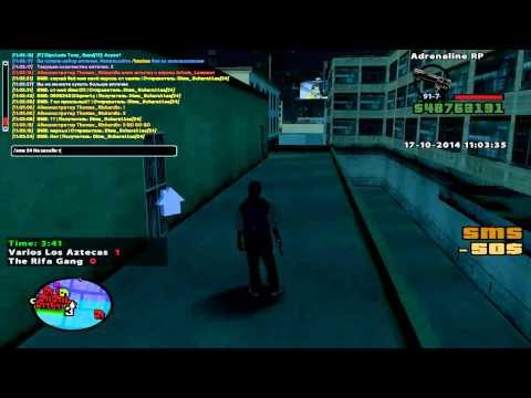 Capture Adrenalin-RP | VLA vs San-Fierro Rifa | - Популярные видеоролики!