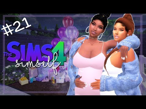 DOUBLE BABY SHOWER! 👶 | LET'S PLAY THE SIMS 4 | SIMSELF | Part #21