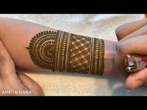 STEP BY STEP BRIDAL MEHNDI HENNA DESIGN TRADITIONAL INDIAN STYLE