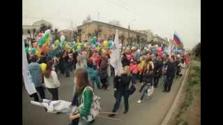1 мая шествие в Йошкар-Оле (фото)