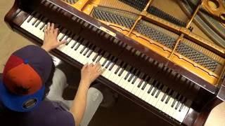 Felix Jaehn ft Alma - Bonfire - piano cover acoustic unplugged by LIVE DJ FLO