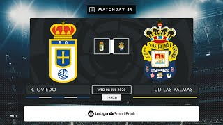 Real Oviedo UD Las Palmas MD39 X1930