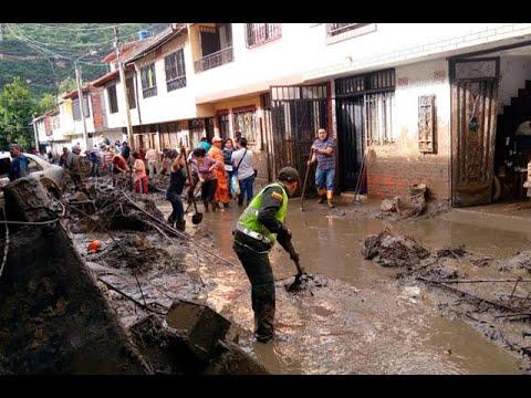 Avalancha San Gil: En Medio De Lodo Y Escombros Está El Municipio | Noticias Caracol