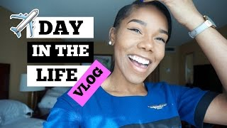 Day In The Life of a Flight Attendant | 3 Day Trip VLOG