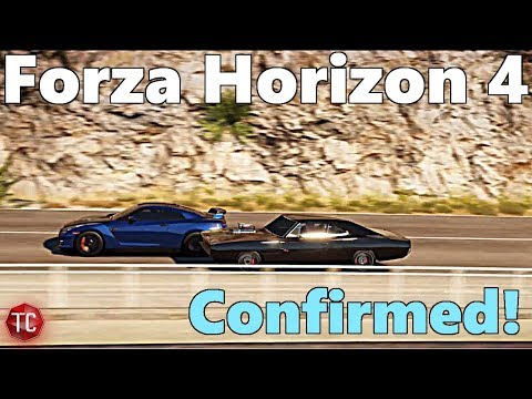 Forza Horizon 4 OFFICIALLY CONFIRMED!! Location Reveal Coming at E3 2018!