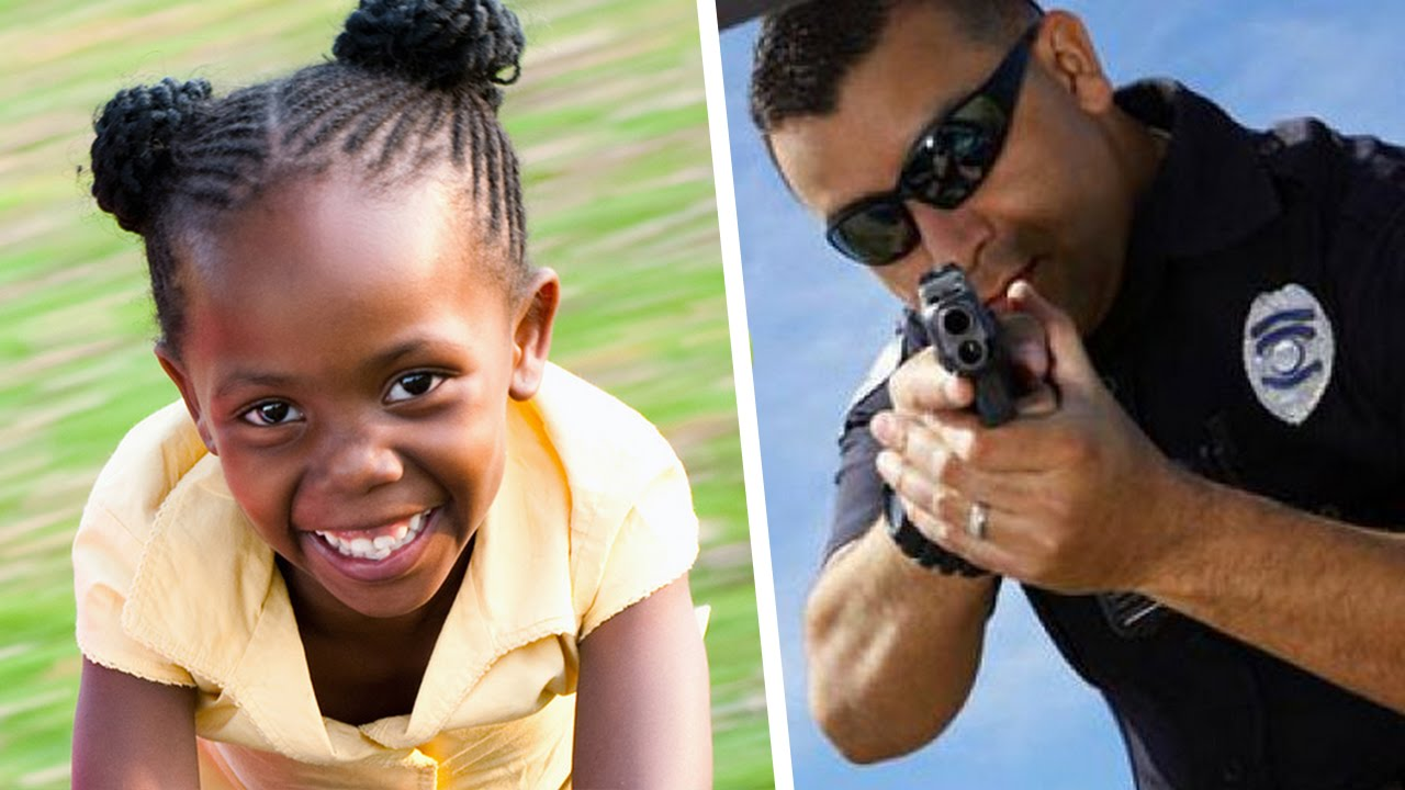Cops Tackle 11-Year-Old Girl And Holds Her At Gunpoint DAMN!!!!! I'M PISSED!!! WOW!!!