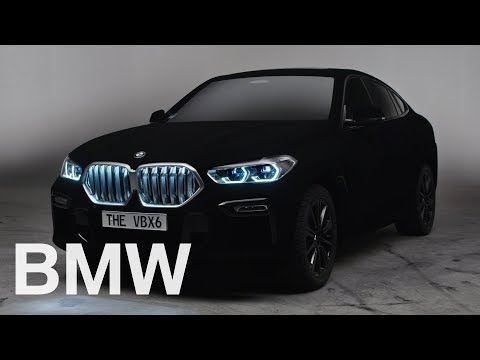 BMW shows off an X6 in Vantablack, the blackest of blacks