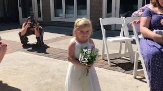 Audrey Nethery in her Aunties Wedding!!