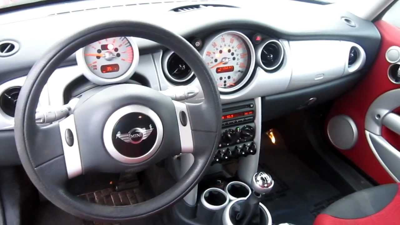 2002 Mini Cooper Red Stock Lc35344 Interior Youtube