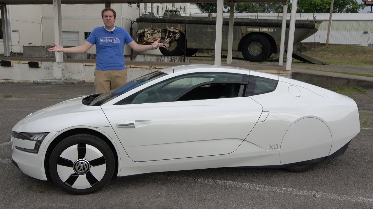 Download The Volkswagen XL-1 Is an Insanely Rare $150,000 Efficient Supercar