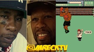 Bang Em Smurf KNOCKED OUT? By Ol G Goon 'Loose Bruce' |50 Cent Not The Blame?|Alleged Claims|M.Reck