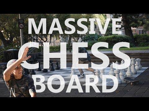 Hidden Massive Chess Board!