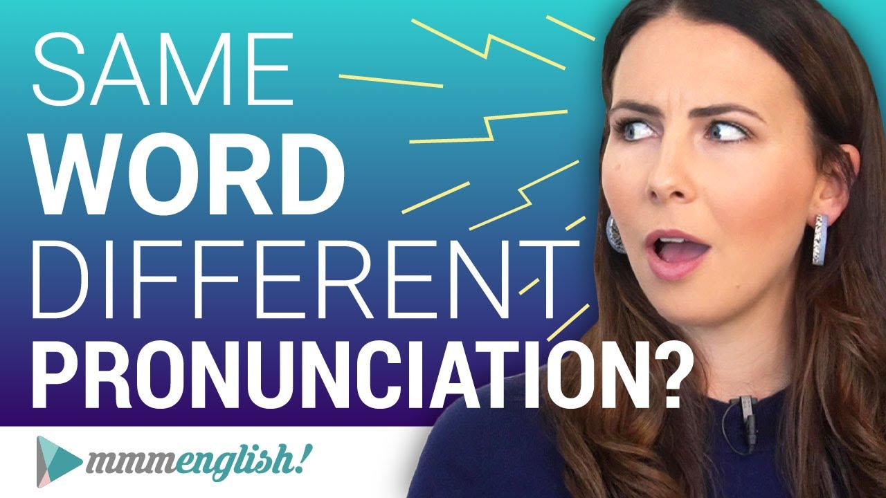 Spelled the SAME. Pronounced DIFFERENTLY ? Correct English Pronunciation - YouTube