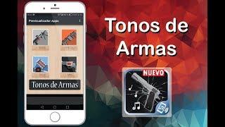 Aplicación de Tonos de armas para celular