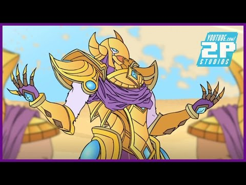LoL Anime - Do not feed AZIR! (League of Legends Animation)