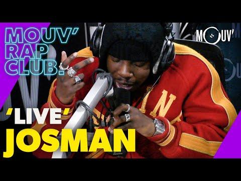 Youtube: JOSMAN –«Décisions»,«New Hares (Same Sh!t)»,«GOAL» (Live @Mouv' Rap Club)
