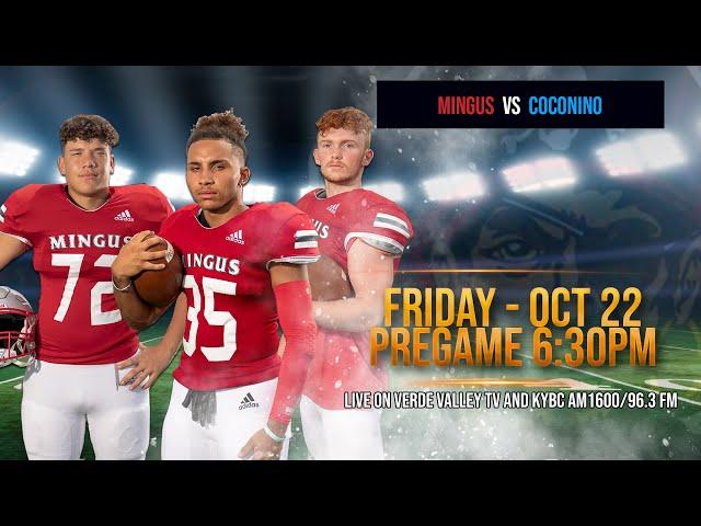 October 22 - Mingus Marauders vs Coconino Panthers