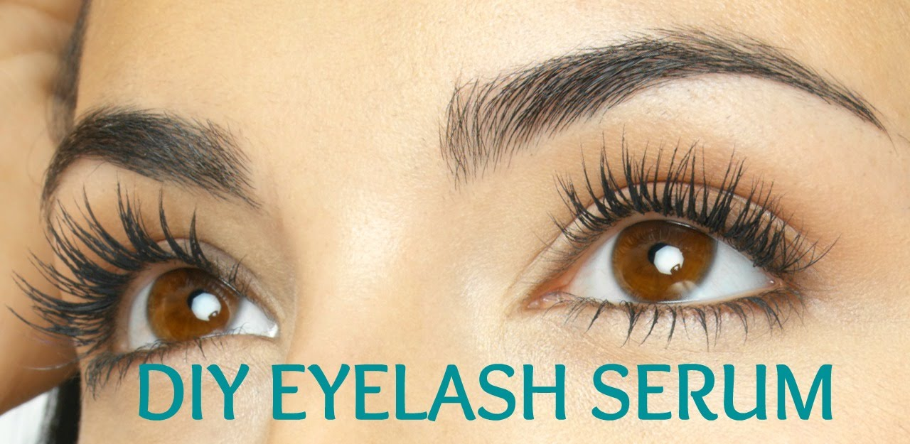 Diy Eyelash Growth Serum No More Mascara Youtube