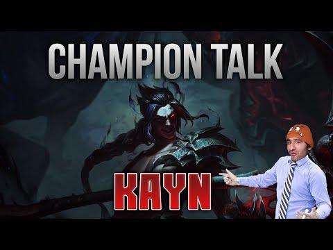 Champion Talk: Kayn [League of Legends] [Deutsch / German]