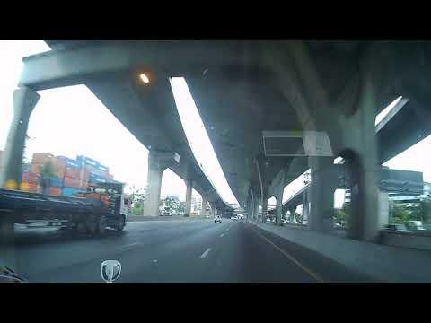 Road Trip from Pattaya to Bangkok Dash Cam Movie