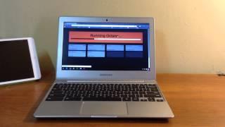 Samsung Chromebook 2 (Intel Bay Trail) Octane test