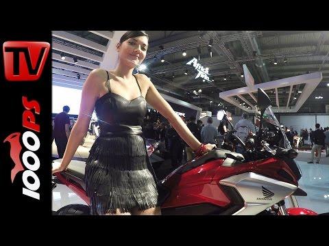 Honda NC750X 2016 - Fahrmodi, DCT, Farben
