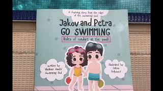 "Swimming Dad - Children Book ""Jakov and Petra GO SWIMMING!"""