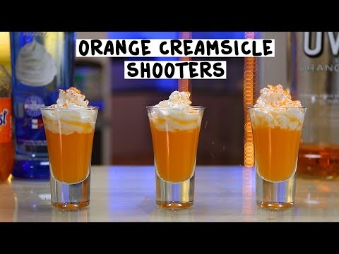 Orange Creamsicle Shooters