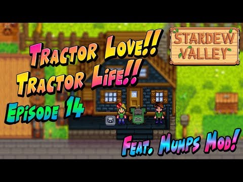 Tractor Everything Now, Full Production Mode!! - Stardew Val