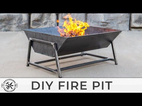 How to Make a DIY Fire Pit from Steel | Welding Projects