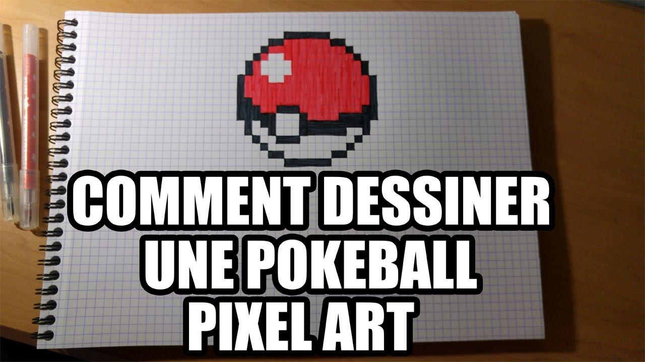 Comment Dessiner Une Pokeball Pixel Art