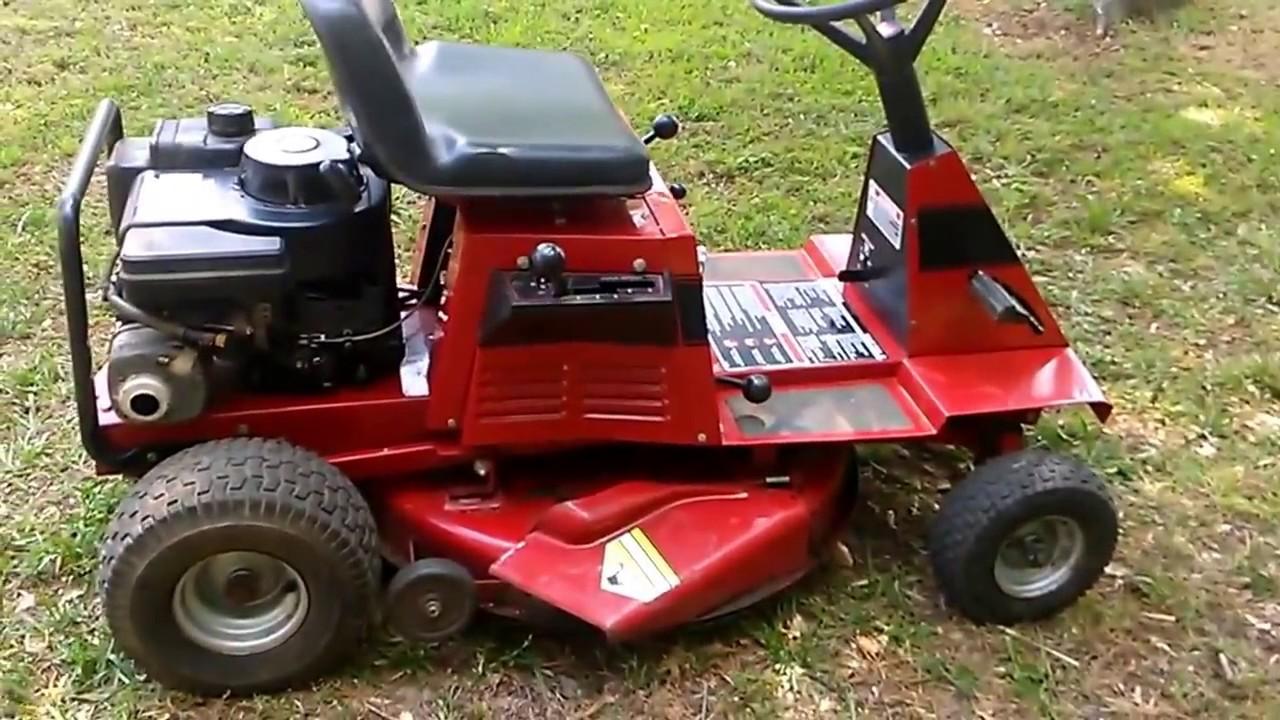 Toro Wheel Horse 10 32 Riding Mower