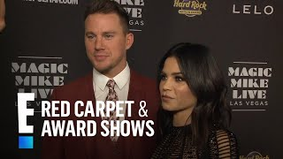"""Channing Tatum & Jenna Dewan at """"Magic Mike Live"""" Opening 