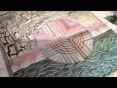 Painter Yoni Matatyaou new works @ FM gallery Oakland