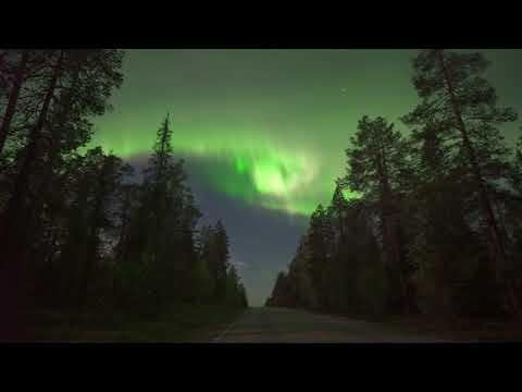 Spectacular northern lights illuminate Lapland sky