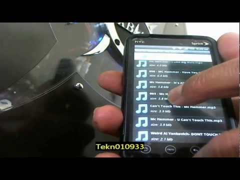 4Share Android Application on how to set up and download music