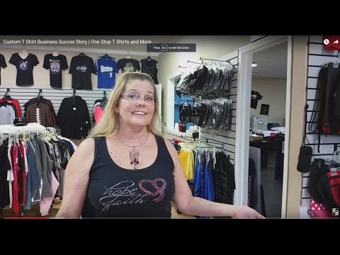 Custom T Shirt Business Succss Story   One Stop T Shirts and More