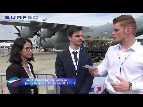 Paris Air Show 2019 - Stage chez Surfeo