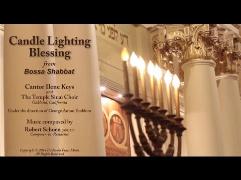 Jewish Blessing Over Candles Friday Night Shabbat Prayer