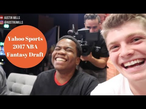 Yahoo Sports 2017 NBA Fantasy Draft
