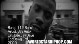 Watch Jay Rock 112 Bars video