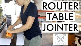 Using a Router Table as a Jointer // Router Tips // How to Woodworking // No Jointer