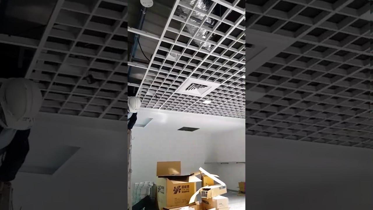 節能寶 天花板隔音隔熱墊 安裝實例 - YouTube