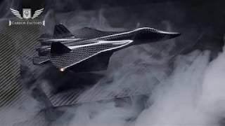 Летающий самолёт из карбона