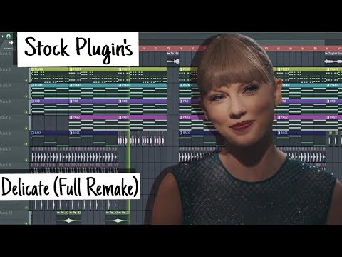 Taylor Swift - Delicate (FL Studio) [Instrumental]